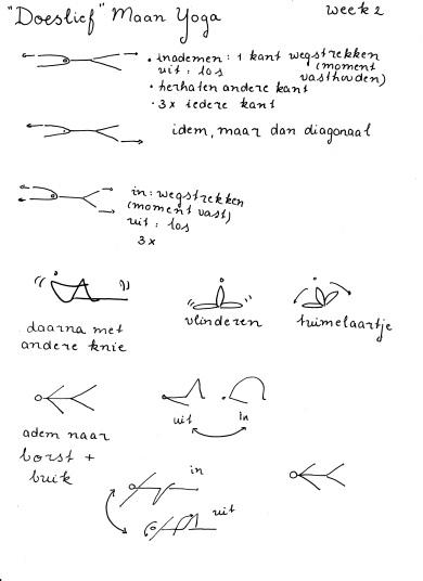 week 2 Maan Yoga Doeslief